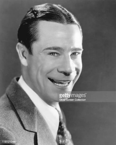 American actor and comedian Joe E Brown as Jimmy Canfield in a publicity still for the comedy film 'Sons o' Guns' 1936