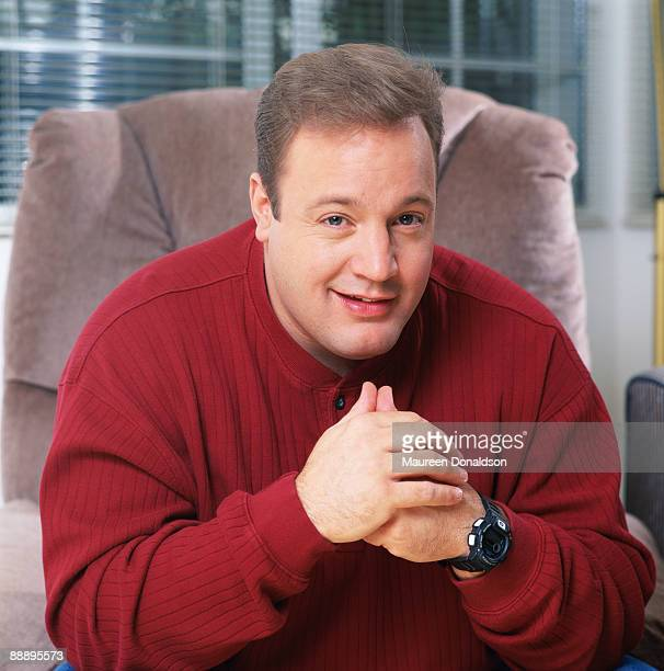 American actor and comedian Kevin James circa 1995 After starring in CBS sitcom 'The King of Queens' he appeared on the big screen as 'Paul Blart...