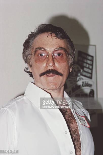American actor and comedian Marty Ingels July 1982