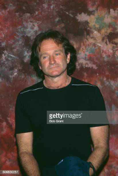 American actor and comedian Robin Williams , 1996.