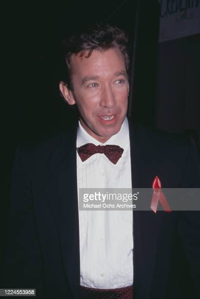 American actor and comedian Tim Allen attends the 13th Annual CableACE Awards at Pantages Theater in Los Angeles, California, 12th January 1992.