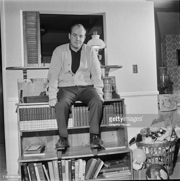 American actor and comedian Tim Conway at his home in Encino, California, circa 1965.