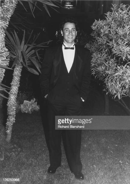 American actor and dancer Matt Lattanzi at the Cannes Film Festival in France, May 1988.