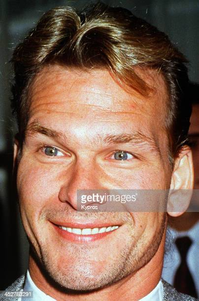 American actor and dancer Patrick Swayze circa 1992