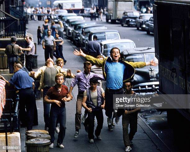 American actor and dancer Russ Tamblyn as Riff in the musical film 'West Side Story' 1961