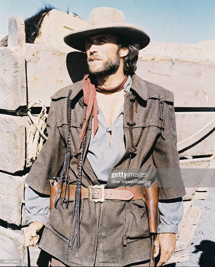 American actor and director Clint Eastwood as Josey Wales in