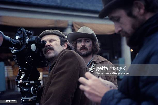 American actor and director Dennis Hopper during the filming of his directorial debut 'Easy Rider' New Orleans Louisiana 1968
