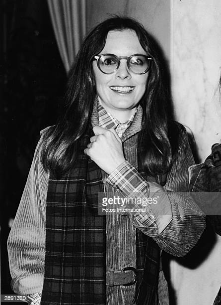American actor and director Diane Keaton attends a party for Muhammad Ali November 1975