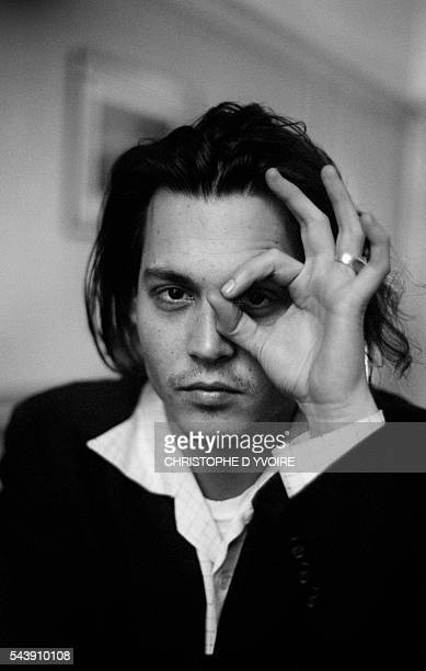 American Actor and Director Johnny Depp