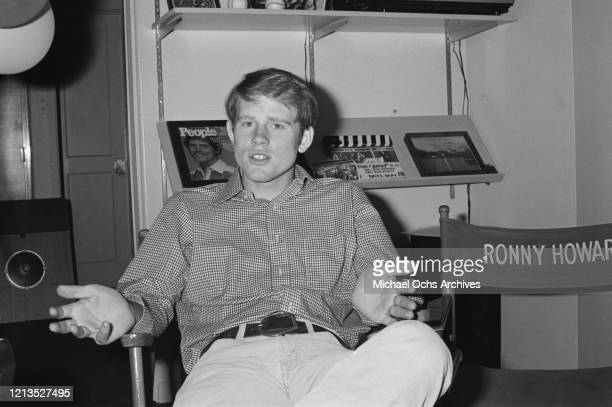 American actor and director Ron Howard 14th July 1978