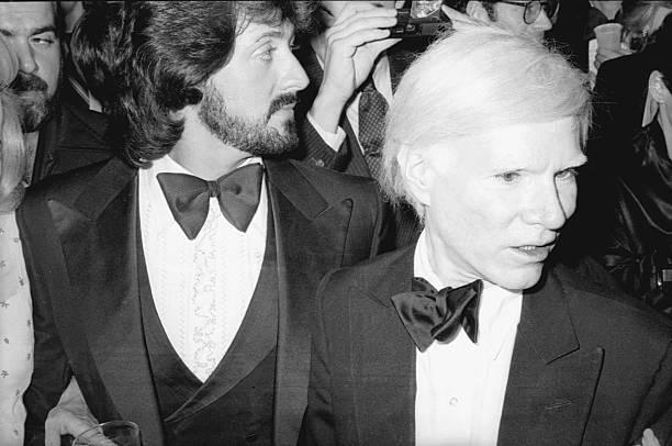 Stallone & Warhol Attend Whitney Opening Wall Art