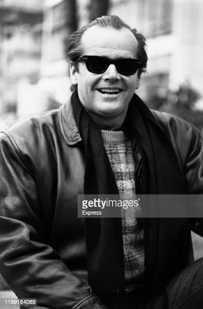 American actor and filmmaker Jack Nicholson, London, Uk, 28th February 1984.