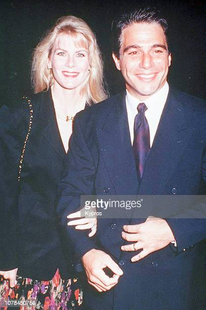 American actor and former professional boxer Tony Danza and her wife Tracy Robinson attend the 'In the Line of Fire' Los Angeles World Premiere at...