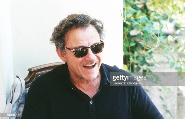 American actor and producer Harvey Keitel, Lido, Venice, Italy, 13th September 1999.