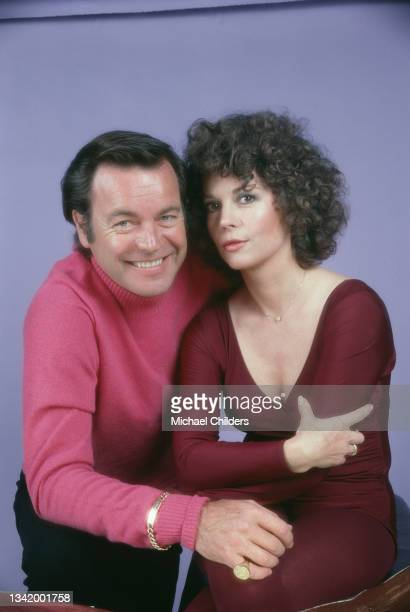 American actor and producer Robert Wagner and his wife, actress Natalie Wood.