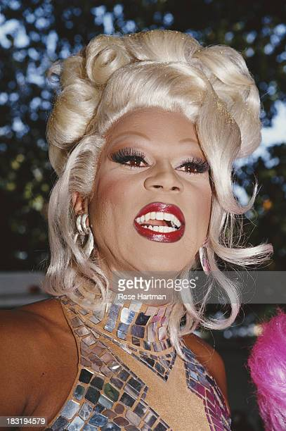 American actor and recording artist RuPaul circa 1998