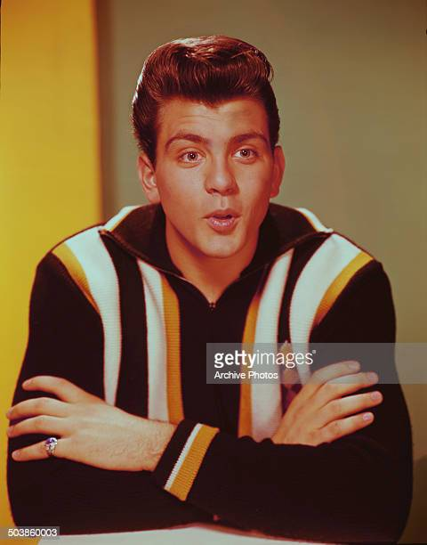 American actor and singer and popular teen idol Fabian Forte circa 1960
