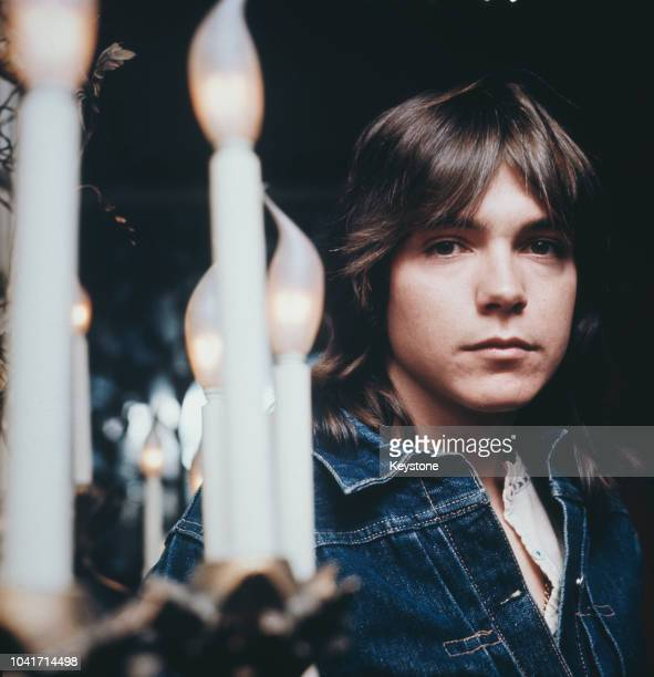 American actor and singer David Cassidy in London, UK, circa 1975.