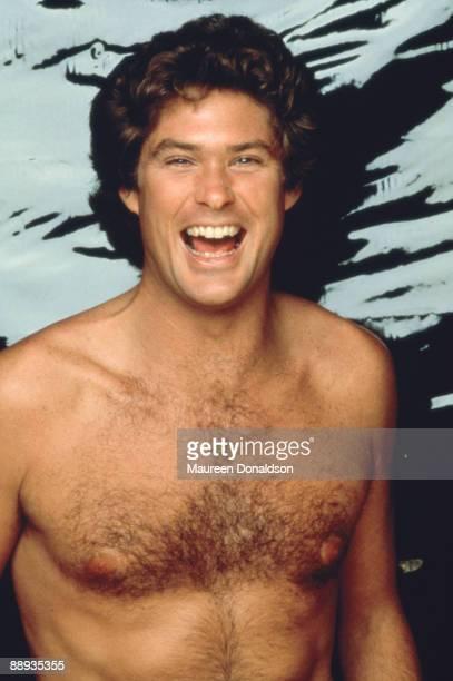 American actor and singer David Hasselhoff in Malibu California circa 1990