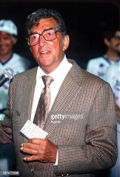 American actor and singer Dean Martin circa 1988
