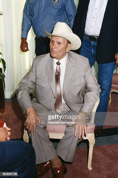 American actor and singer Gene Autry circa 1992