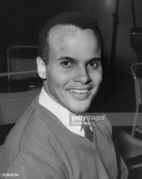 American actor and singer Harry Belafonte, circa 1960.