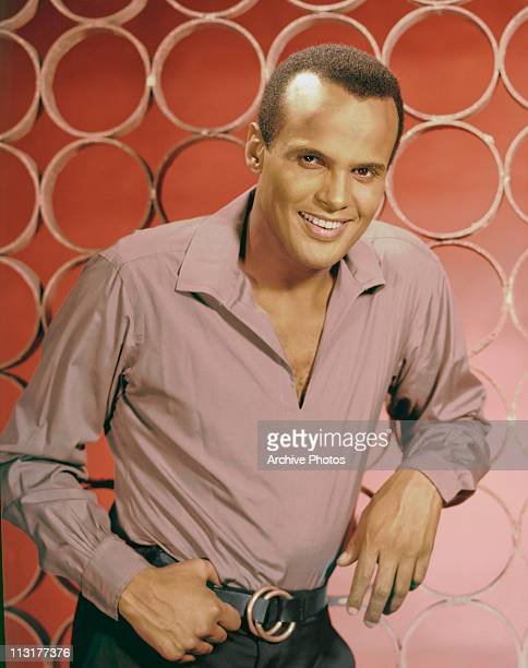 American actor and singer Harry Belafonte poses circa 1956.