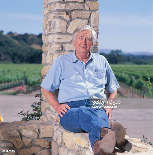 American actor and winemaker Fess Parker at the Fess Parker Family Winery and Vineyards in Los Olivos California circa 2000