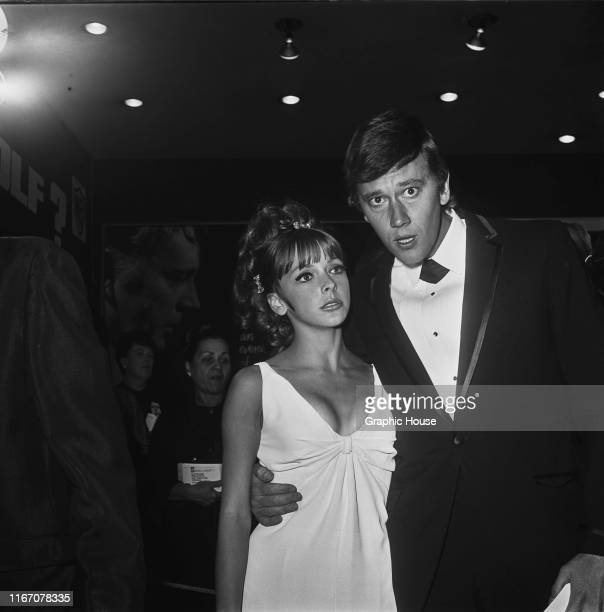 American actor Andrew Prine and his wife actress Brenda Scott at the premiere of the film 'Who's Afraid of Virginia Woolf' in Hollywood California...