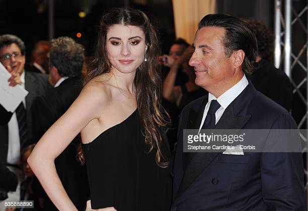 American actor Andy Garcia and his daughter actress Dominik GarciaLorido attend the premiere of City Island at the 35th Deauville American Film...