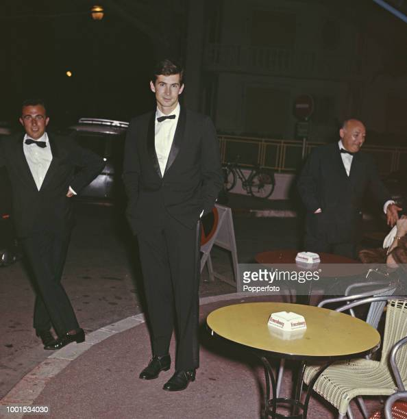 American actor Anthony Perkins attends the 1961 Cannes Film Festival at Cannes in France in May 1961 Anthony Perkins would go on to win the Best...