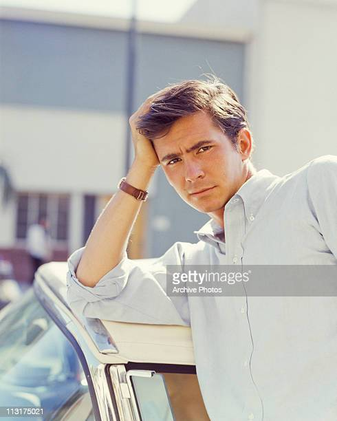 American actor Anthony Perkins poses circa 1960