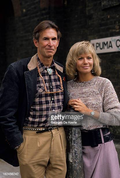 American actor Anthony Perkins stars with actress Glynis Barber in 'Edge of Sanity' a film version of the Jekyll and Hyde story 19th April 1988