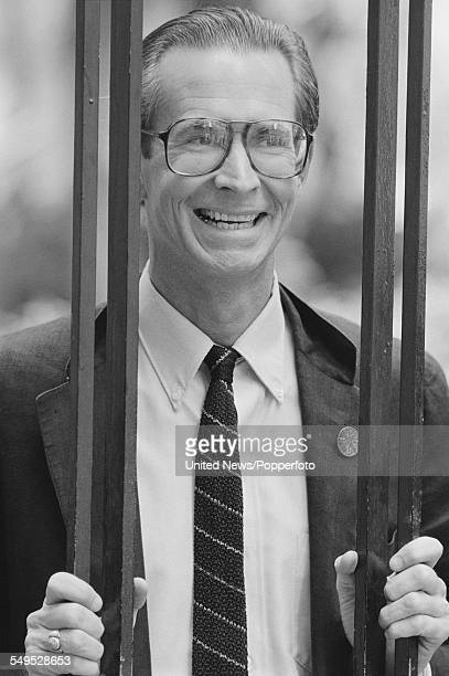 American actor Anthony Perkins who resurrects the role of Norman Bates in the film Psycho II pictured in London on 1st August 1983
