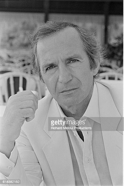 American actor Ben Gazzara attends the 1982 Cannes Film Festival His latest film Inchon directed by Terence Young was screened at the festival