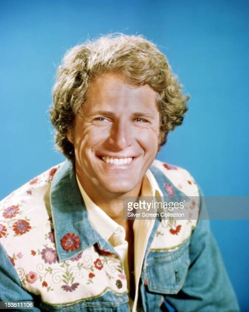 American actor Ben Murphy in a publicity portrait for the American TV series 'Gemini Man', 1976.