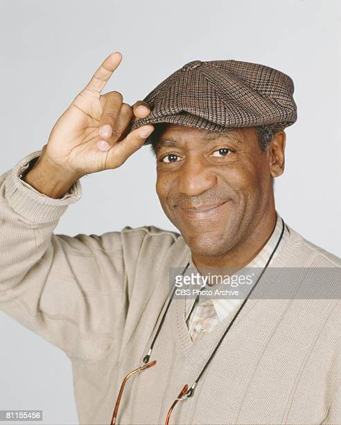 American actor Bill Cosby in character as Hilton Lucas tips his cap for a promotional photograph for the CBS sitcom 'Cosby' June 17 1996