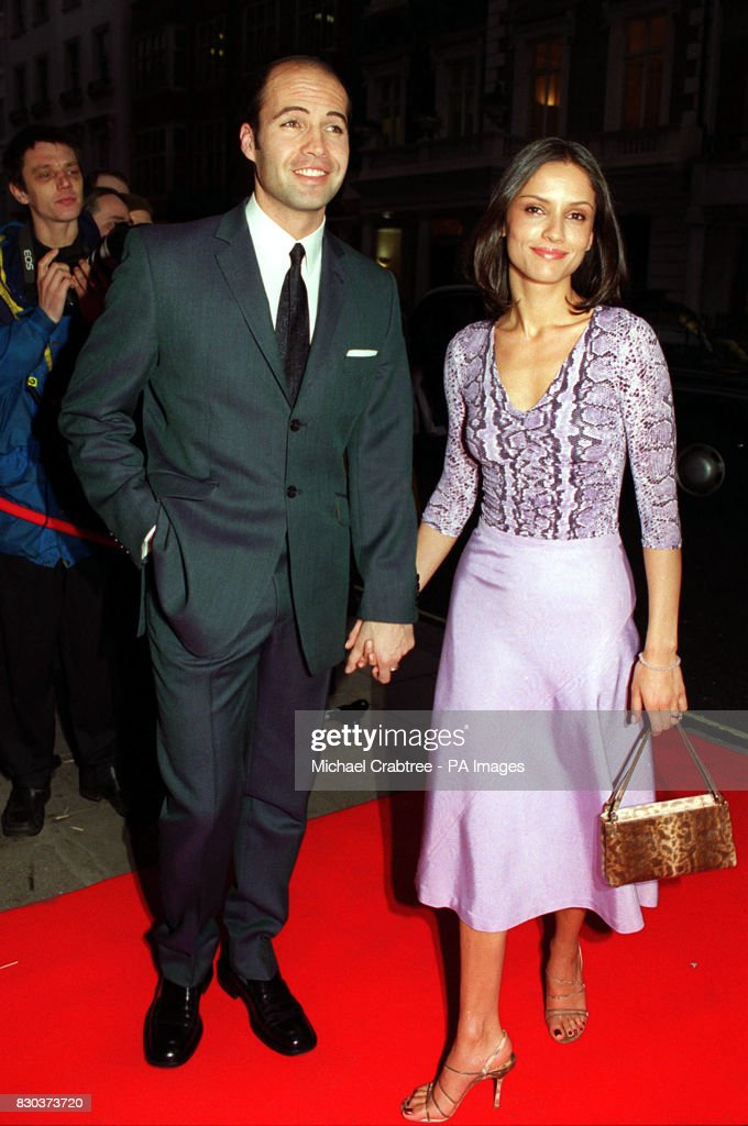 american actor billy zane and his girlfriend jessica murphy arriving