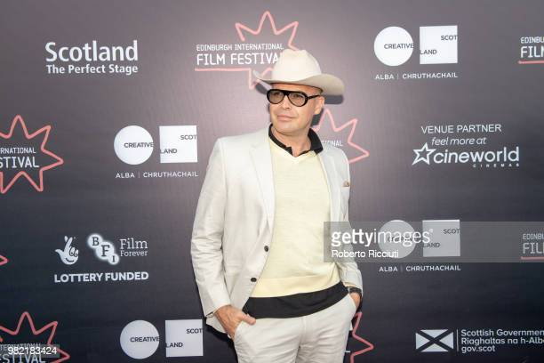 American actor Billy Zane attends a photocall for the World Premiere of 'Lucid' during the 72nd Edinburgh International Film Festival at Cineworld on...