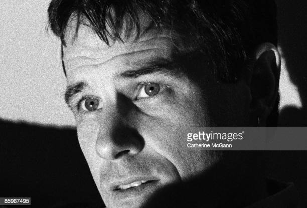 American actor Brad Davis best known for his role in the 1978 film MIdnight Express poses for a portrait on March 5 1990 in New York City New York