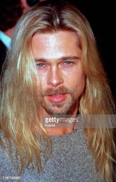 American actor Brad Pitt, circa 1990.