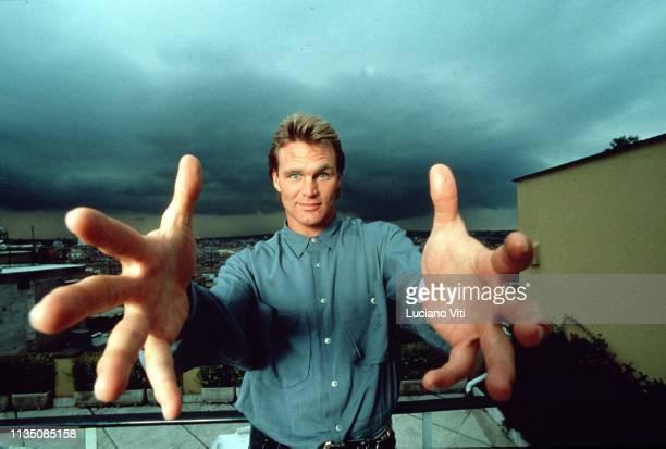 American actor Brian Bosworth Rome Italy circa 1990