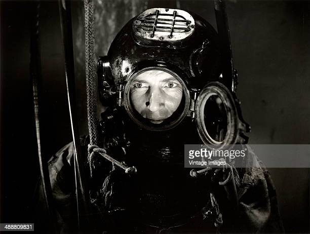 American actor Bruce Bennett stars in the Columbia Pictures Corporation film 'The Phantom Submarine' 1940 Photo by MB Paul