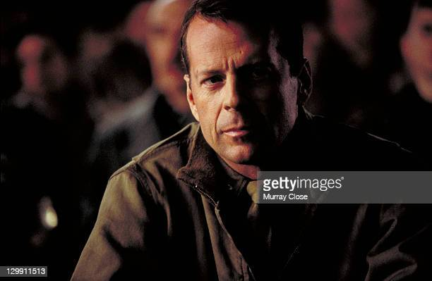 American actor Bruce Willis as Colonel William McNamara in a scene from the film 'Hart's War', 2002.