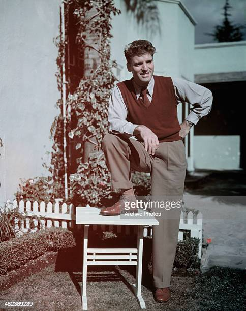 American actor Burt Lancaster circa 1950