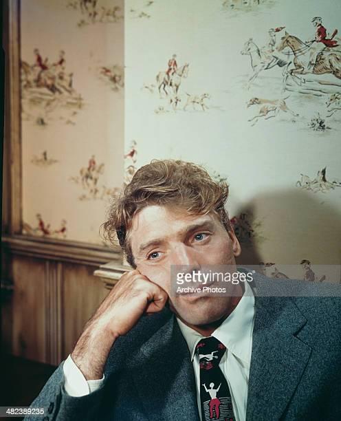 American actor Burt Lancaster circa 1955