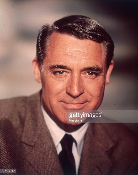 American actor Cary Grant who starred in several Hitchcock films