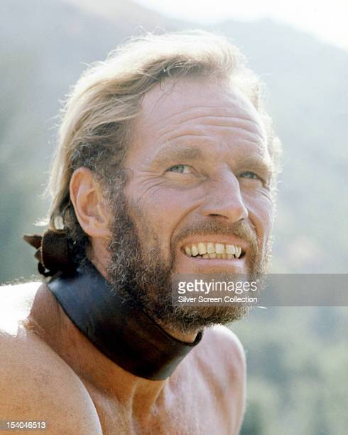 American actor Charlton Heston as George Taylor in 'Planet Of The Apes' 1968