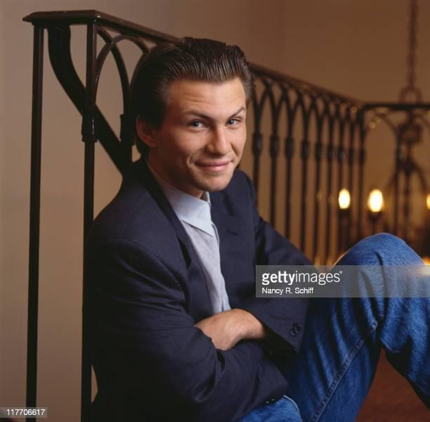 American actor Christian Slater circa 1990