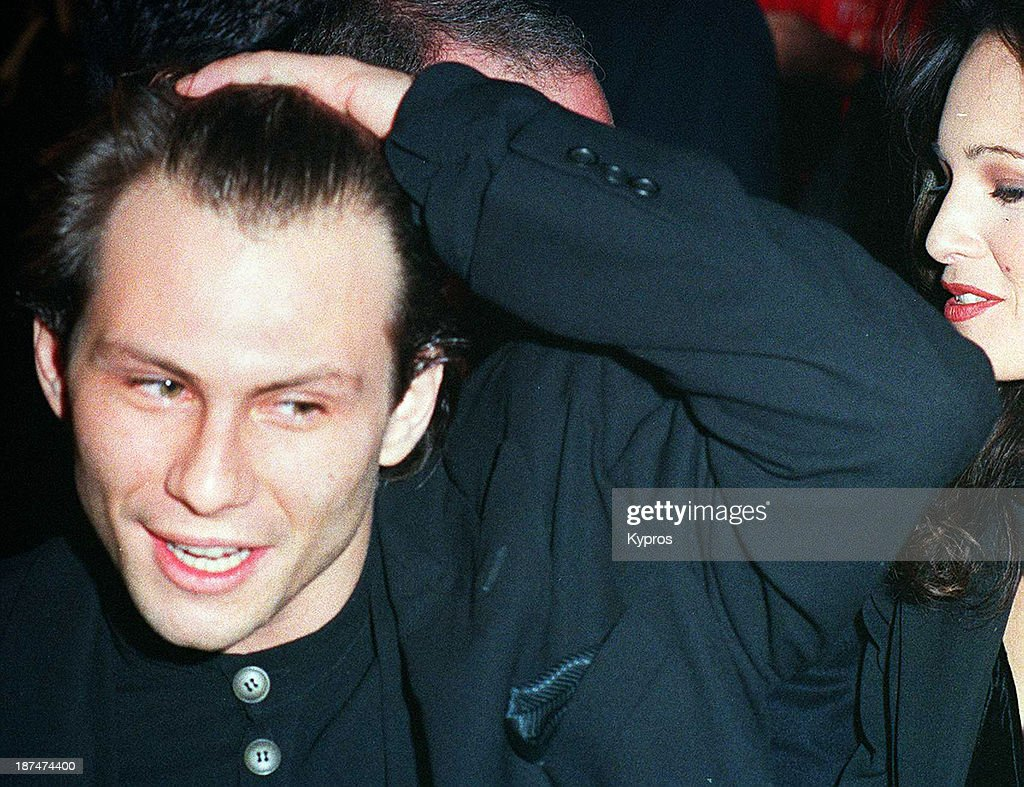 Christian Slater : News Photo